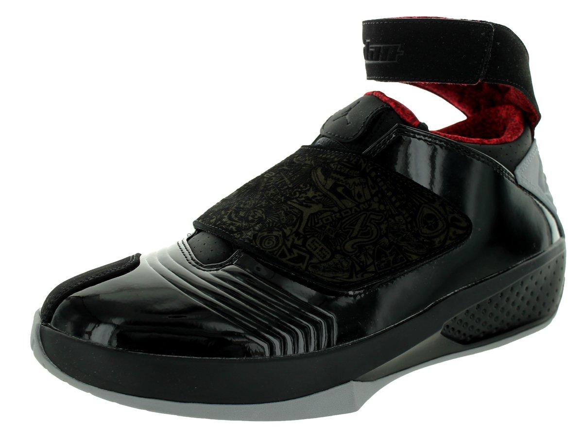 Nike Jordan Men's Air Jordan XX Black/Stealth/Varsity Red Basketball Shoe 10.5 Men US