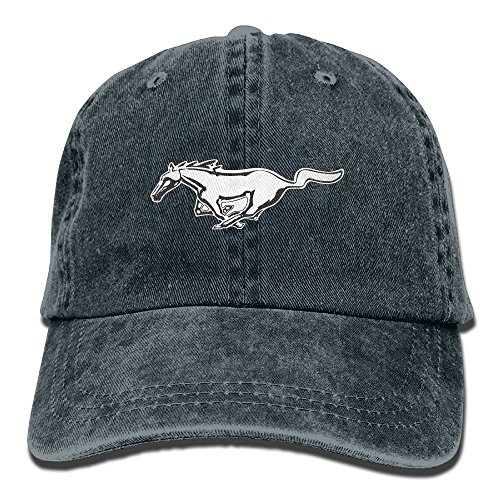Unisex Mustang Car Baseball Cap Snapback Adult Cowboy Hat Hip Hop Trucker Hat
