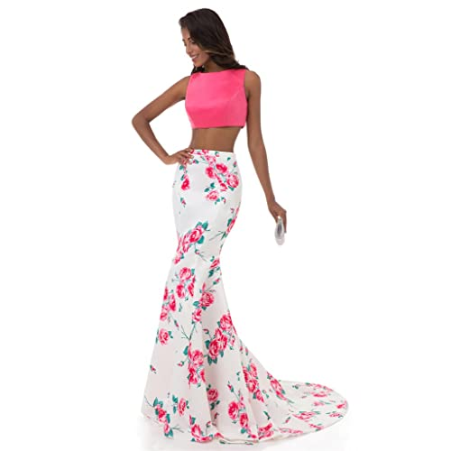 06e245a6e397d HONGFUYU Womens One Shoulder Bridesmaid Chiffon Prom Dress Long Evening  Dresses