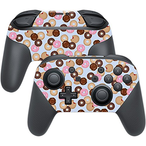 Price comparison product image Skin For Nintendo Switch Pro Controller – Donut Binge | MightySkins Protective, Durable, and Unique Vinyl Decal wrap cover | Easy To Apply, Remove, and Change Styles | Made in the USA