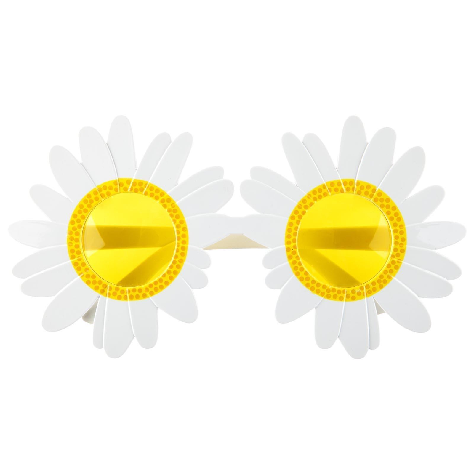 SunnyLIFE UV 380 Sunnies - Sunglasses w/Fun Summer Designs - Daisy White