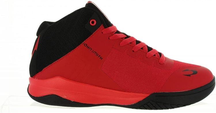 Zapatillas Deporte de Hombre JOHN SMITH BESER Rojo Talla 40: Amazon.es: Zapatos y complementos