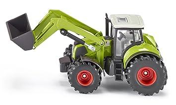 Siku Farmer 1:50 Claas Traktor Mit Frontlader U Muldenkipper Blechspielzeug
