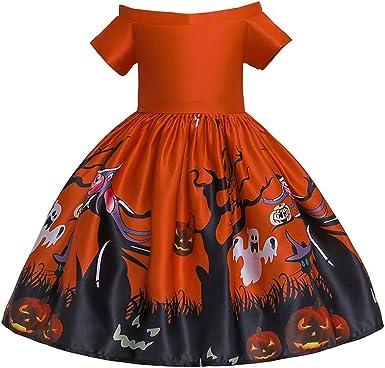 Vectry Vestido Niña Disfraz Niñas Princesa De Dibujos Animados ...