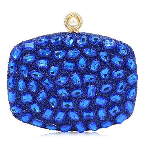 à de Femmes Sacs TuTu des Sacs Coloré Mode de Les en Sacs Soirée la embrayages de I de Mariage Main Acrylique Luxe Cristal q7xpwERH7