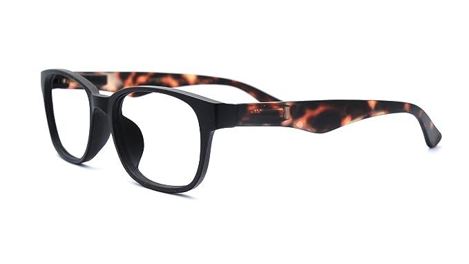 0ff4a66b2c Eyejets Monte Carlo Wayfarer Designer Reading Glasses (MATTE BLACK FRAME   TORTOISE SOFT TOUCH TEMPLES