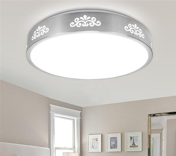 RSQJ LED Deckenleuchte Runde moderne Schlafzimmer Lampen Wohnzimmer ...