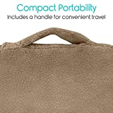 Xtra-Comfort Bed Wedge Pillow - Folding Memory Foam