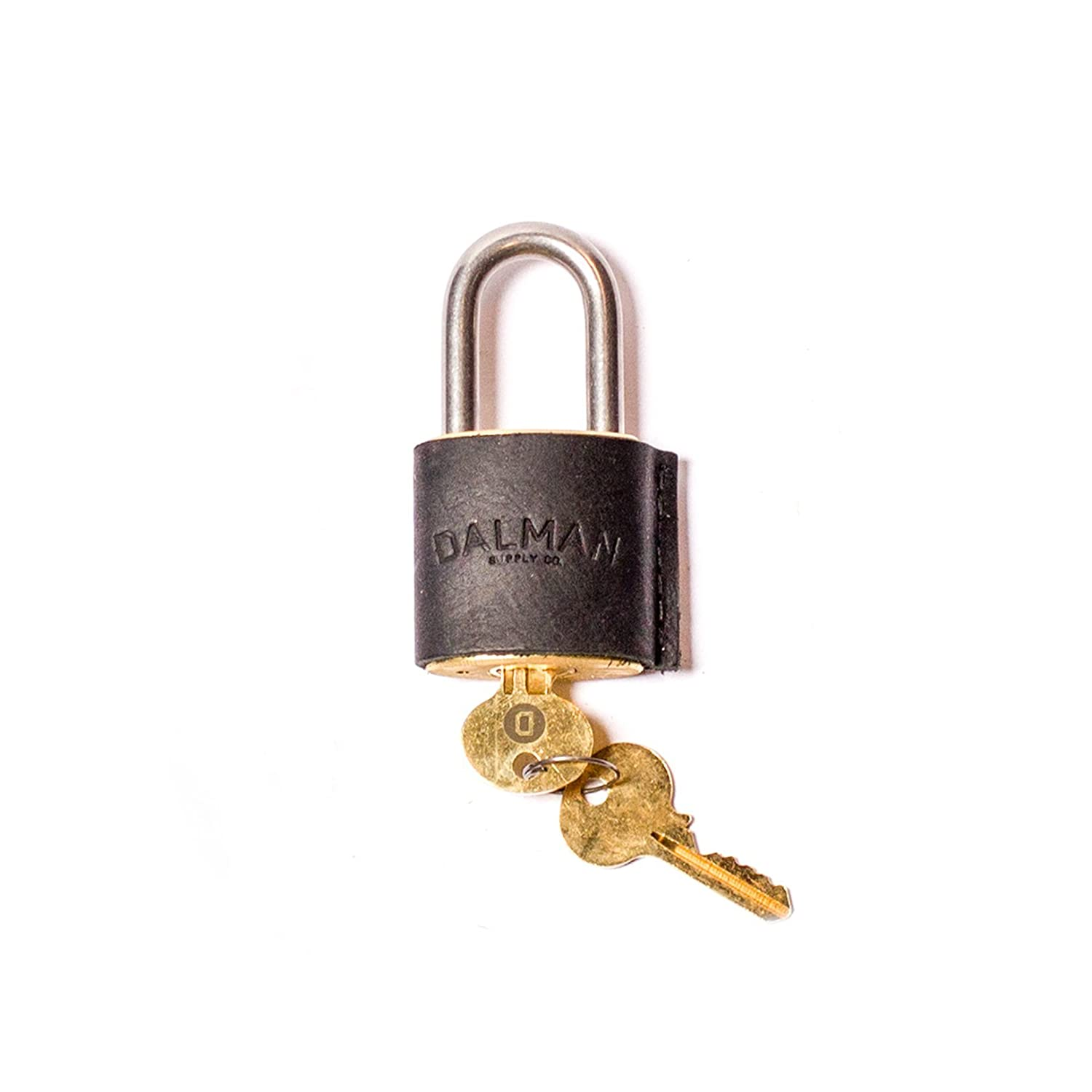 Leather Covered Padlock