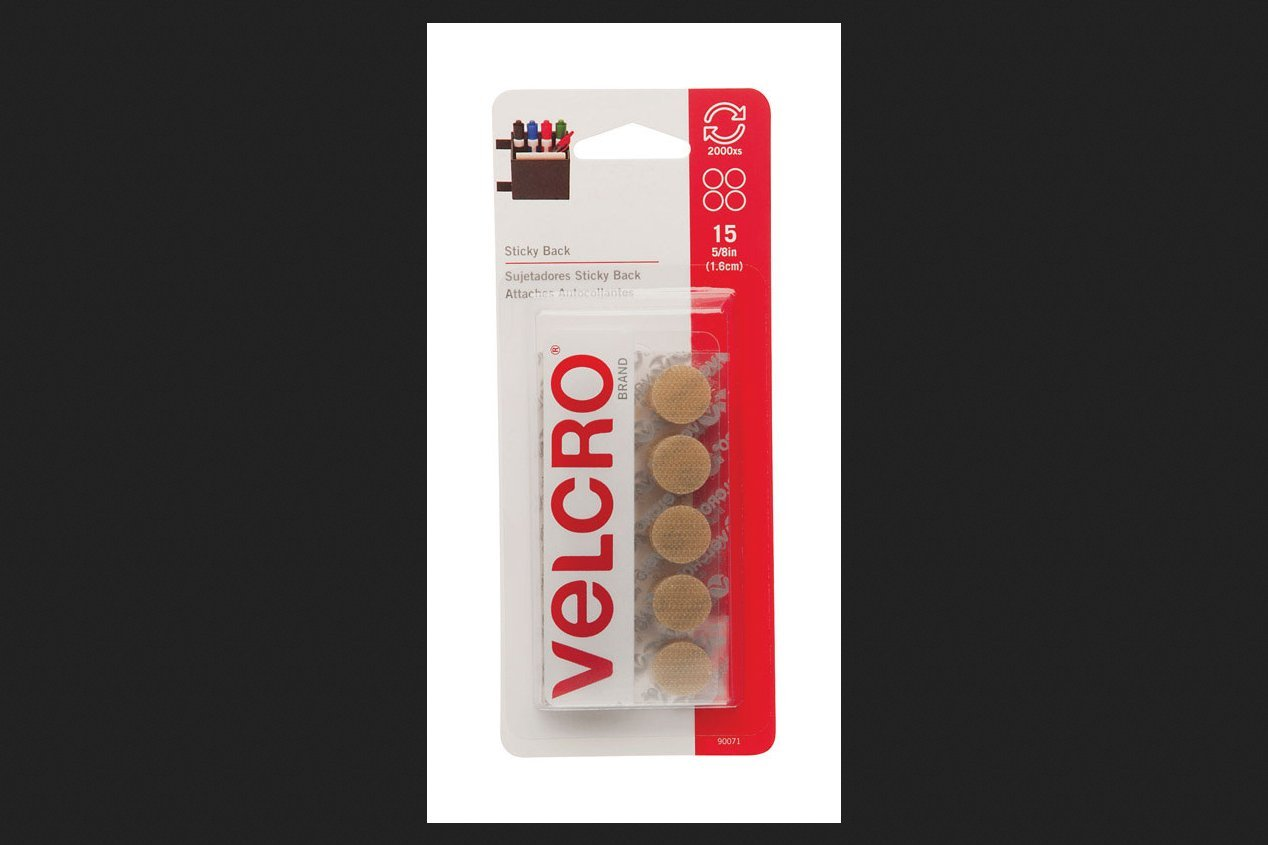 Velcro 90071 5//8 Beige Sticky Back Coins 15 Count