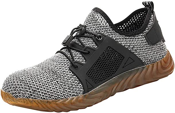 Men's Indestructible Steel Toe Safety Work Shoes Lightweight Trainers UK