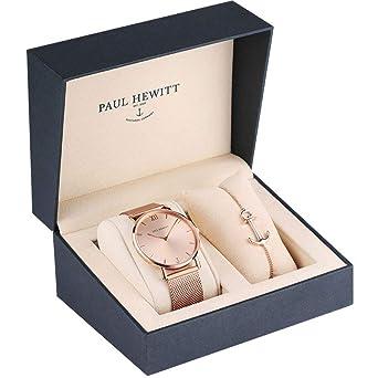 Paul Hewitt Juego de joyas acero inoxidable - PH-PM-1: Amazon.es: Relojes
