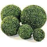 "Decorative Balls by Blaak Penny (3 Balls, 6"" Boxwood Ball)"