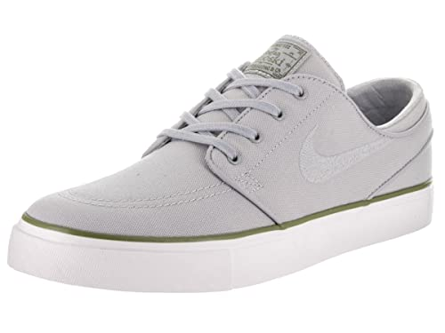 972a134b5e6f Nike Men s Zoom Stefan Janoski CNVS Wolf Grey Wolf Grey Palm Green Skate  Shoe 8. 5 Men US  Buy Online at Low Prices in India - Amazon.in