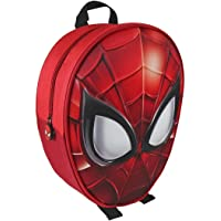 Mochila con Forma de Spiderman y Relieve 25x31x10 cm