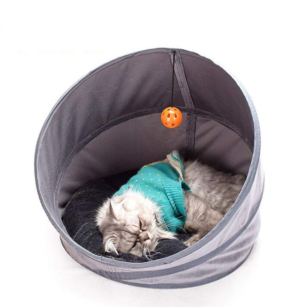 Cat Supplies Cat Tunnel Removable Washable Mat Folding Cat Bed Cat Delivery Room Multi-Function Four-Day Cat Litter