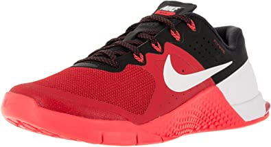 mientras carbón escribir una carta  Nike Mens Metcon 2 Synthetic Trainers Umvrsty Rd/Wht/Brght Crmsn/Blc (8):  Amazon.ca: Shoes & Handbags