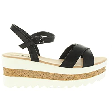 MTNG 50779 SHELLEY Negro - Chaussures Sandale Femme