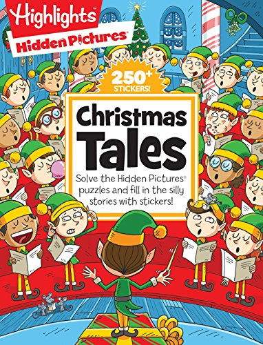(Christmas Tales (Highlights(TM) Hidden Pictures® Silly Sticker Stories(TM)) )