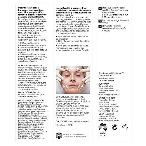 18f7000d0 Amazon.com : Skin Doctors Instant Face Lift 30 ml : Facial Treatment  Products : Beauty