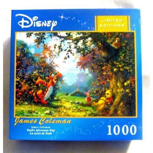 James Coleman Peter Pan 1000 Piece Jigsaw Puzzle Disney Moon