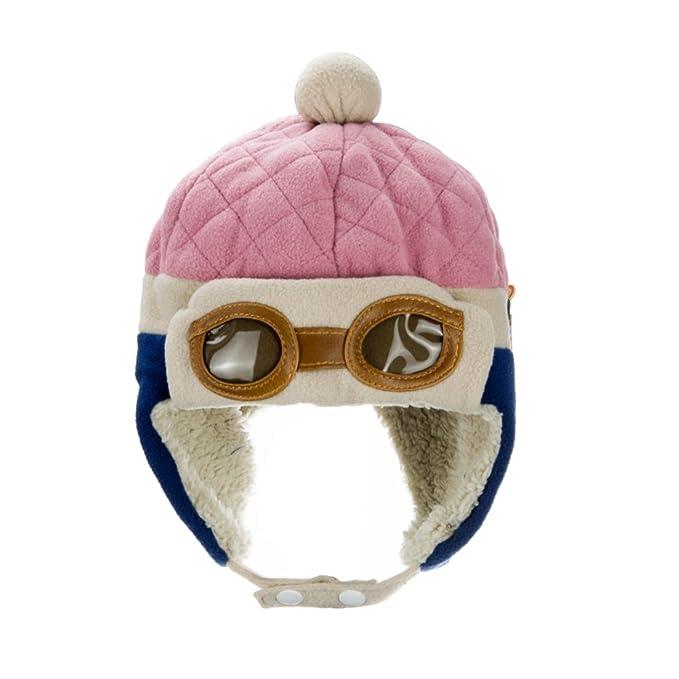 602f56a064eee funbase bebé niños invierno caliente suave gorro Beanie piloto aviador gorro  con orejeras Cap  Amazon.es  Ropa y accesorios