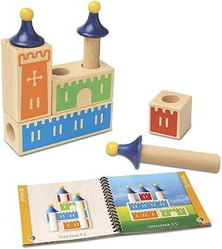 smart games - Castle Logix, Juego de ingenio de Madera con retos progresivos (SG010): Amazon.es: Juguetes y juegos