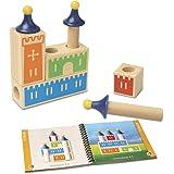 Smart Games Castle Logix, juego de ingenio de madera con retos progresivos (SG010)