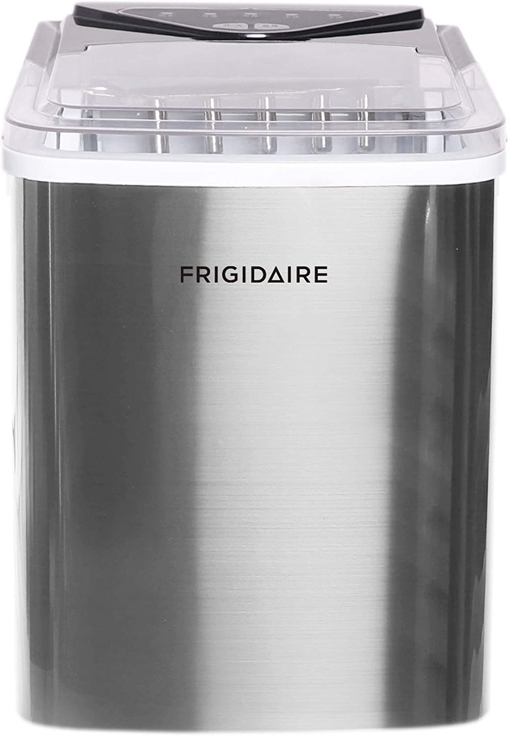 Frigidaire EFIC123-SS Ice Maker, Stainless (Renewed)