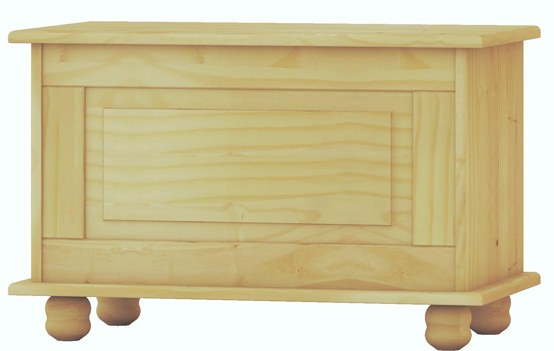 Dogar Baúl Altea Crudo, Pino, Beige, 46x70x39 cm product image