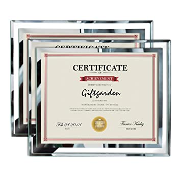 Amazoncom Giftgarden 85x11 Picture Certificate Document Frames