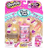 Shopkins Season 3 Food Fair Theme Packs CUPCAKE COLLECTION - 8 Exclusive Shopkins with their Sweet Treat Display Case