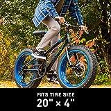 Mongoose Fat Tire Bike Tube, Schrader Valve, 20 x 4