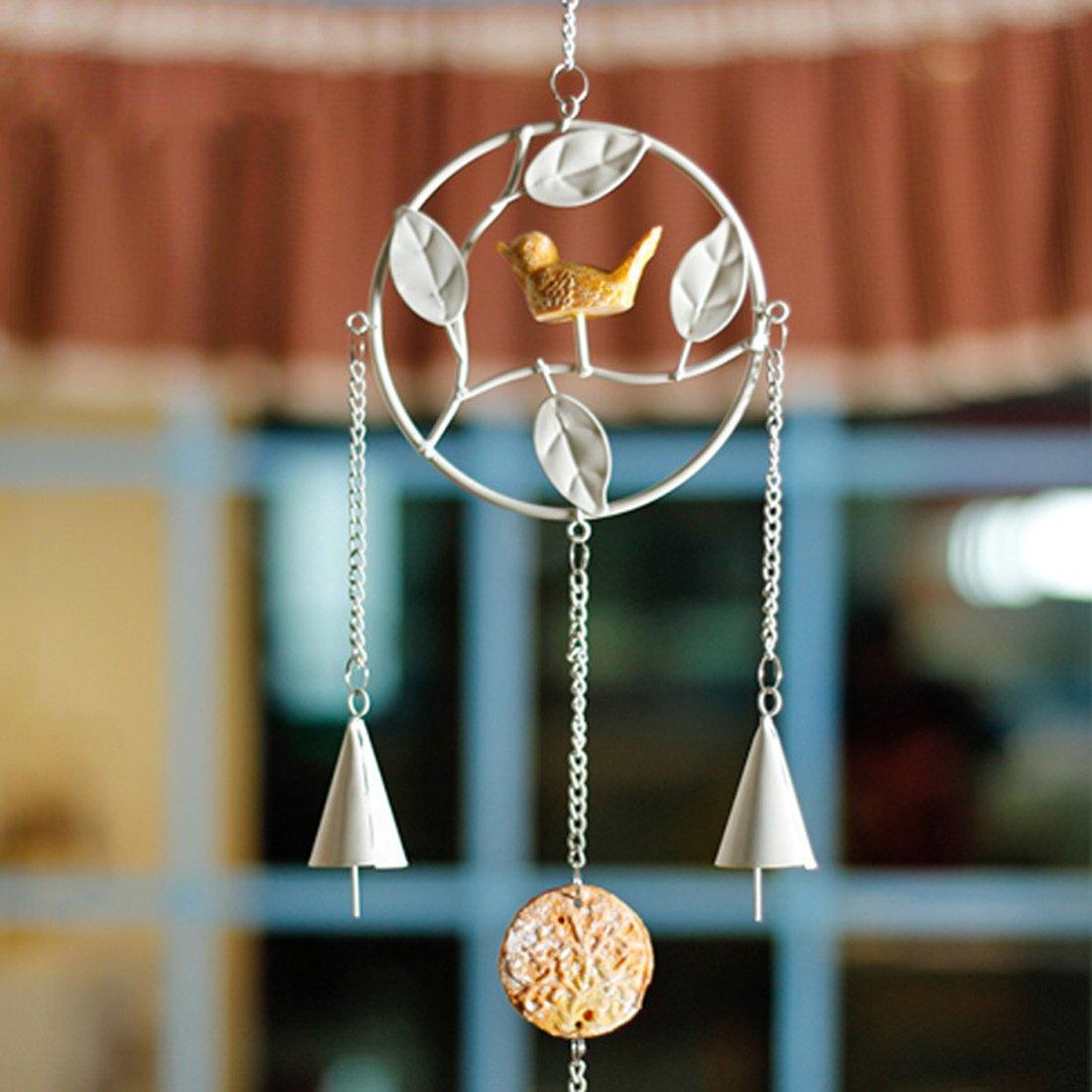 Gabrielley Retro Home Zubehör Glockenspiele Windspiele Haus und Garten zum Aufhängen Decor