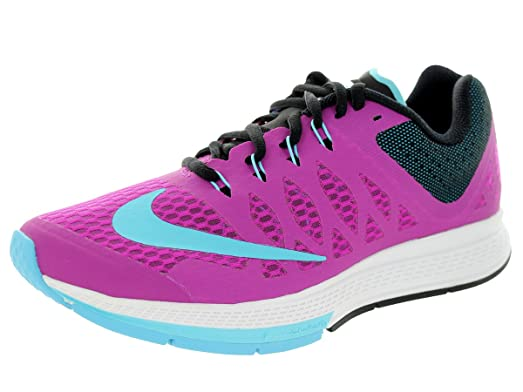 Nike Women's Air Zoom Elite 7 Fushsia Flash/Clearwater Black/ Running Shoe  8 Women