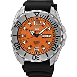 Seiko Automatic Analogue Stainless Steel Silicon Strap Watch SRPB39K