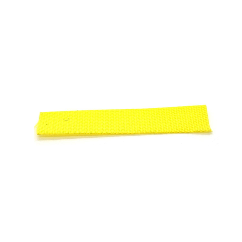 25mm 1 inch Polypropylene Webbing Strap Tape (1m) Black