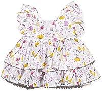 Tutto Piccolo UN Vestido DE NIÑA Blanca Fantasma. 8218S201