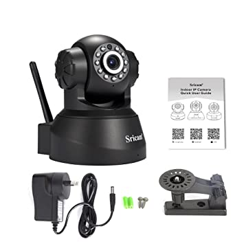 Ulable Sricam Wireless IP Webcam Camera Night Vision 11 LED