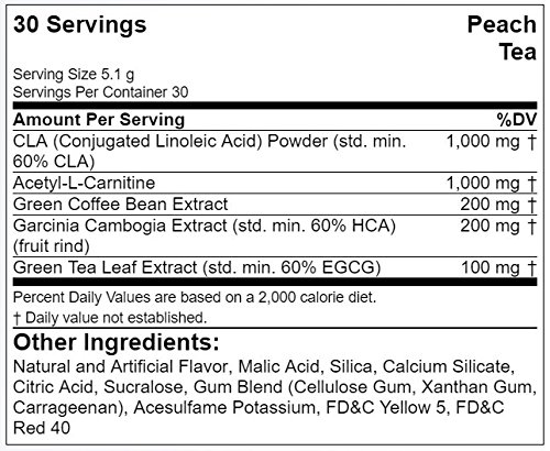 Evlution Nutrition Weight Loss Lean Mode Powder 30 Servings (Peach Tea)
