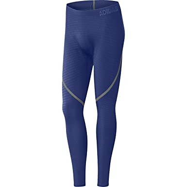 c7f45d7eb0b26 adidas Alphaskin 360 Mens Mystery Ink Long Tights Pants Blue at Amazon Men's  Clothing store: