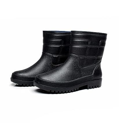 9189455e3 Botas de lluvia   botas cortas para hombres de gran tamaño   botas  antideslizantes de pesca