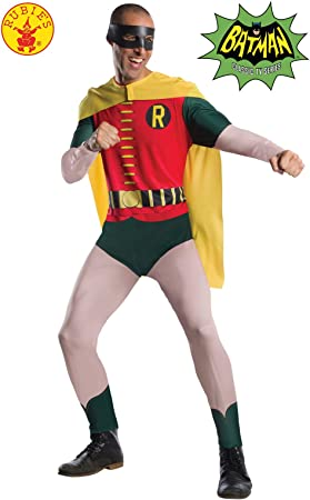 Rubies DC Comic Robin 1966 Version Disfraz, Multicolor (300542STD ...