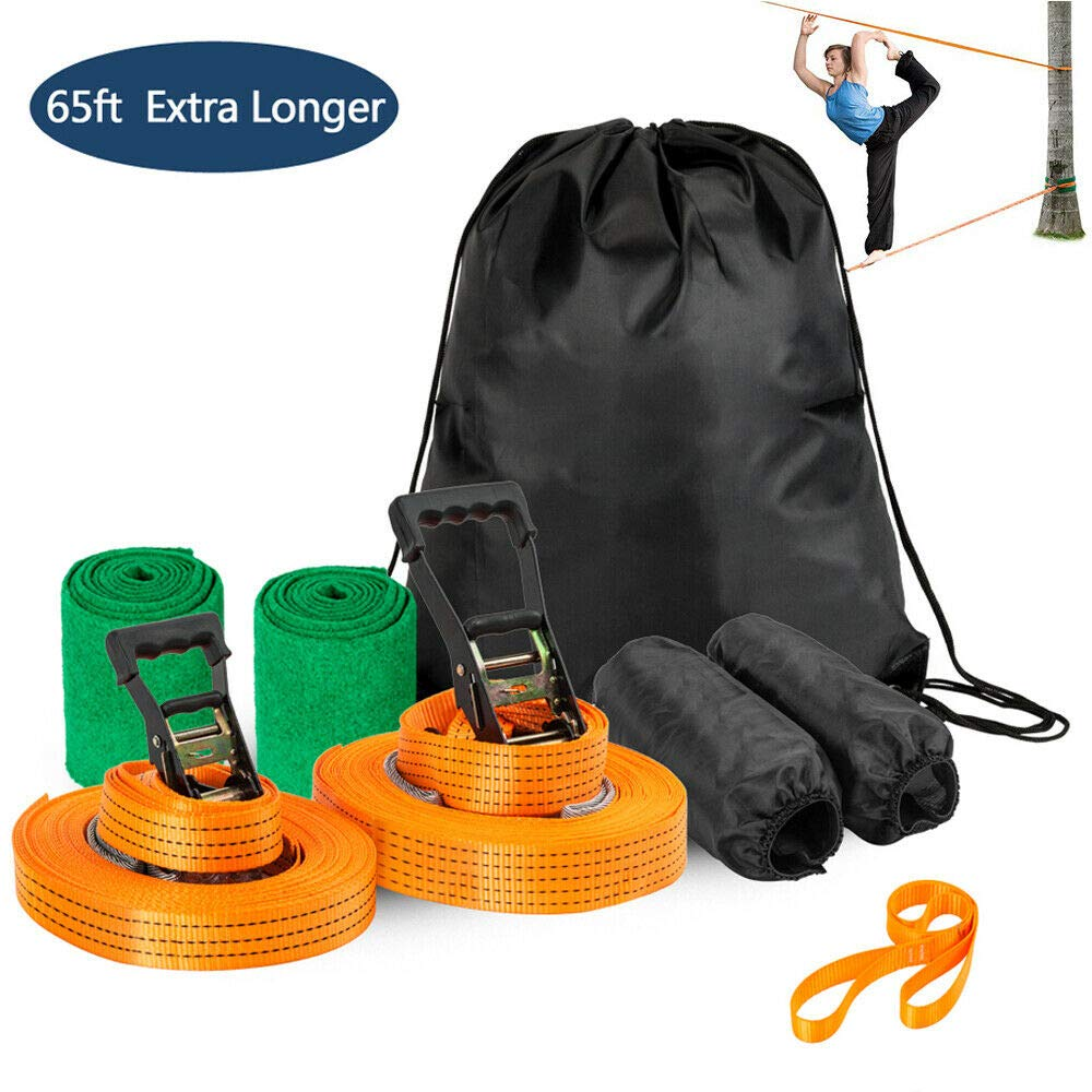 CIAN Arm Trainer Line Warrior Training Equipment Slackline Kit for Kids, Gifts for Boys and Girls by CIAN