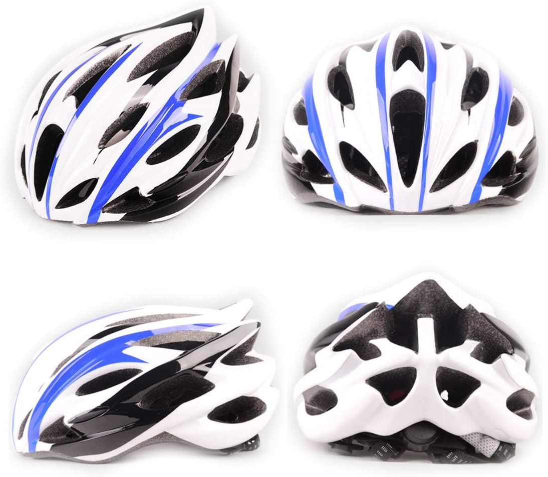 UPANBIKE Bike Helmet One-piece Adjustable Cycling Helmet Safety Head Padded Protection For Riding Trekking