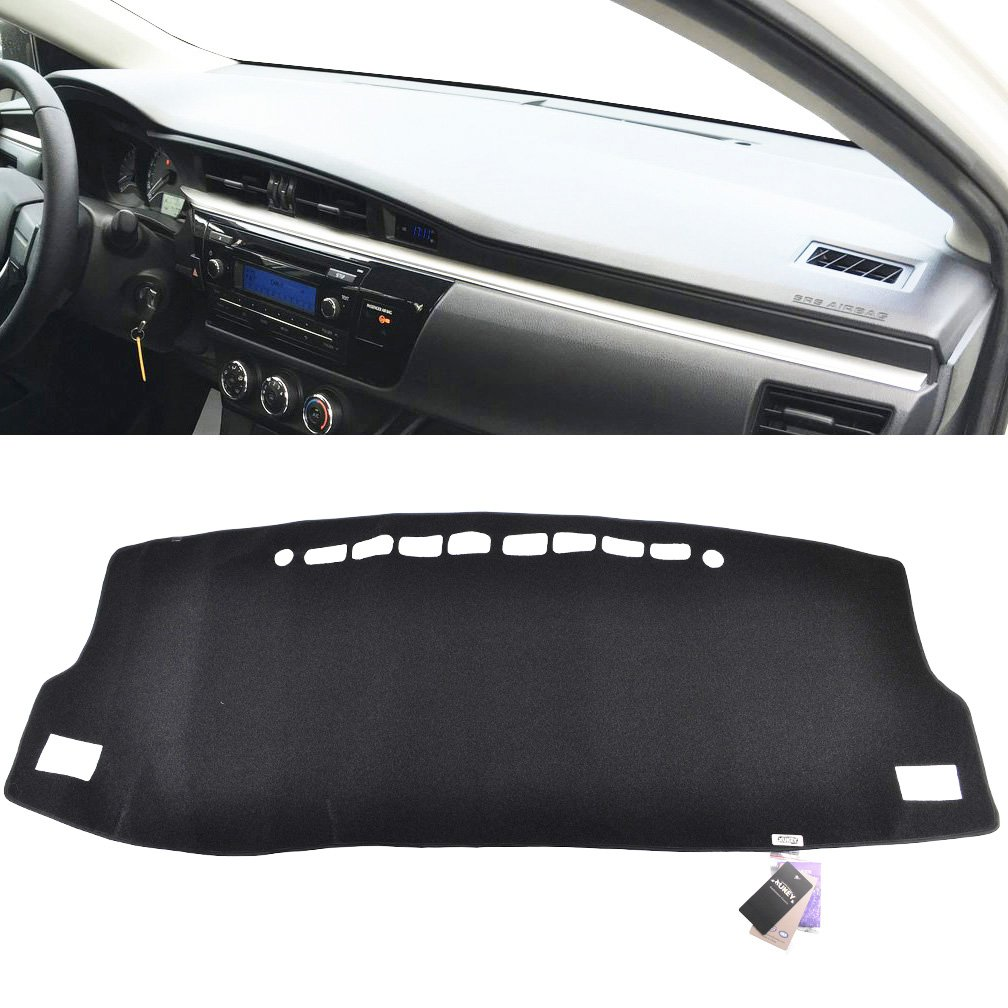 XUKEY Dashboard Cover for Toyota Corolla iM Auris E180 for Scion iM E180 2014-2018 Dash Cover Dash Mat Carpet