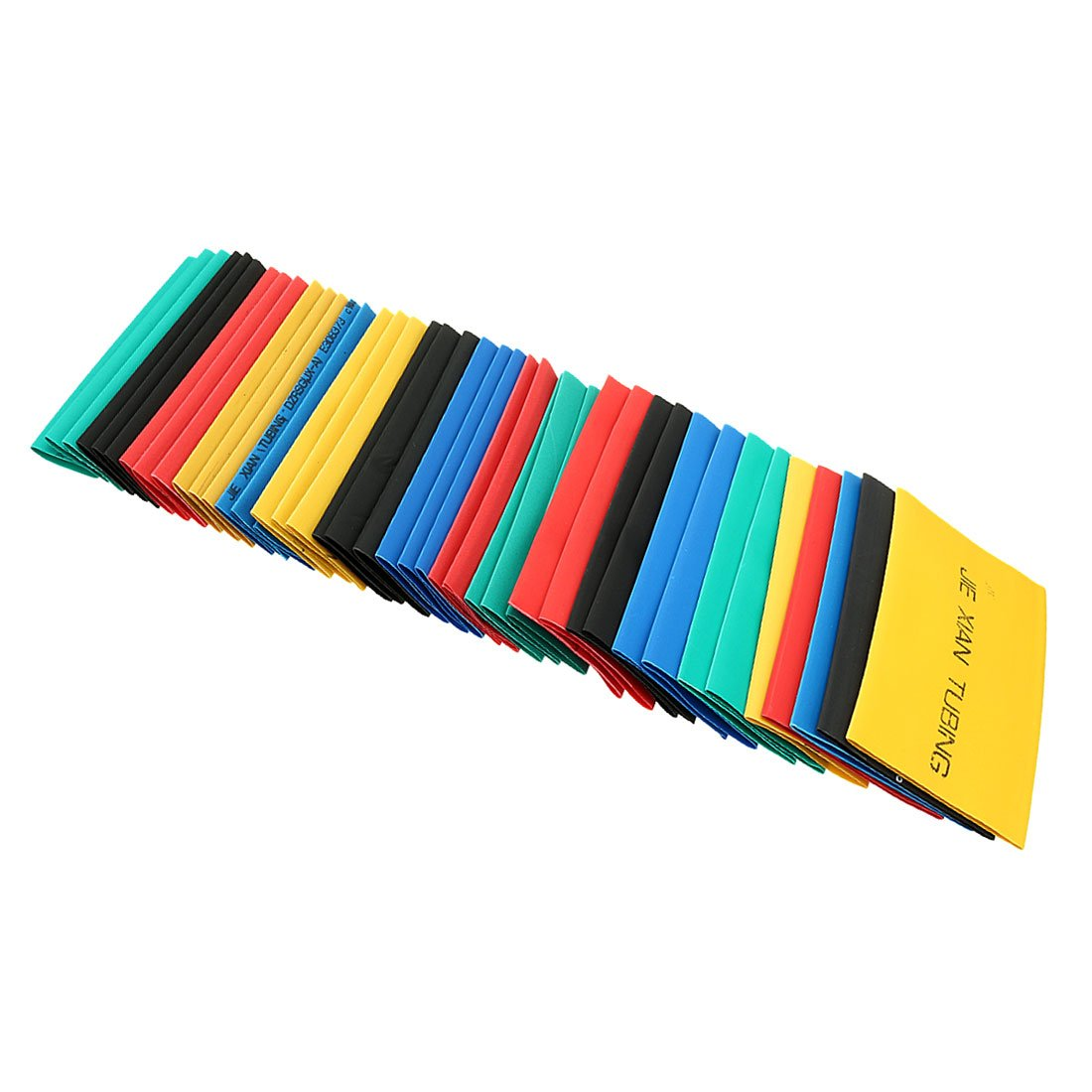 uxcell 410Pcs 2:1 Heat Shrink Tubing Tube Sleeving Wire Cable 5 Color 10 Sizes by uxcell (Image #4)