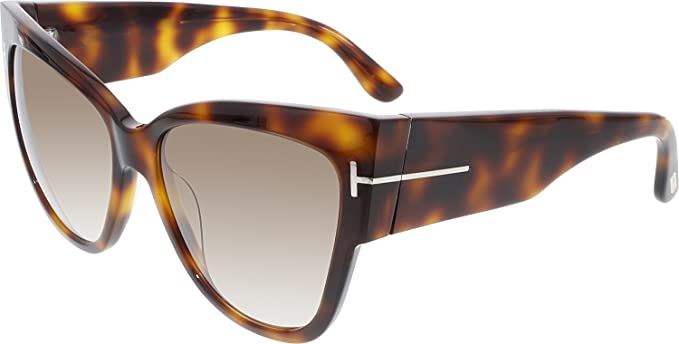 f4ad7a9283 Tom Ford Women s Gradient Anoushka FT0371-53F-57 Tortoiseshell Cat Eye  Sunglasses  Tom Ford  Amazon.ca  Clothing   Accessories