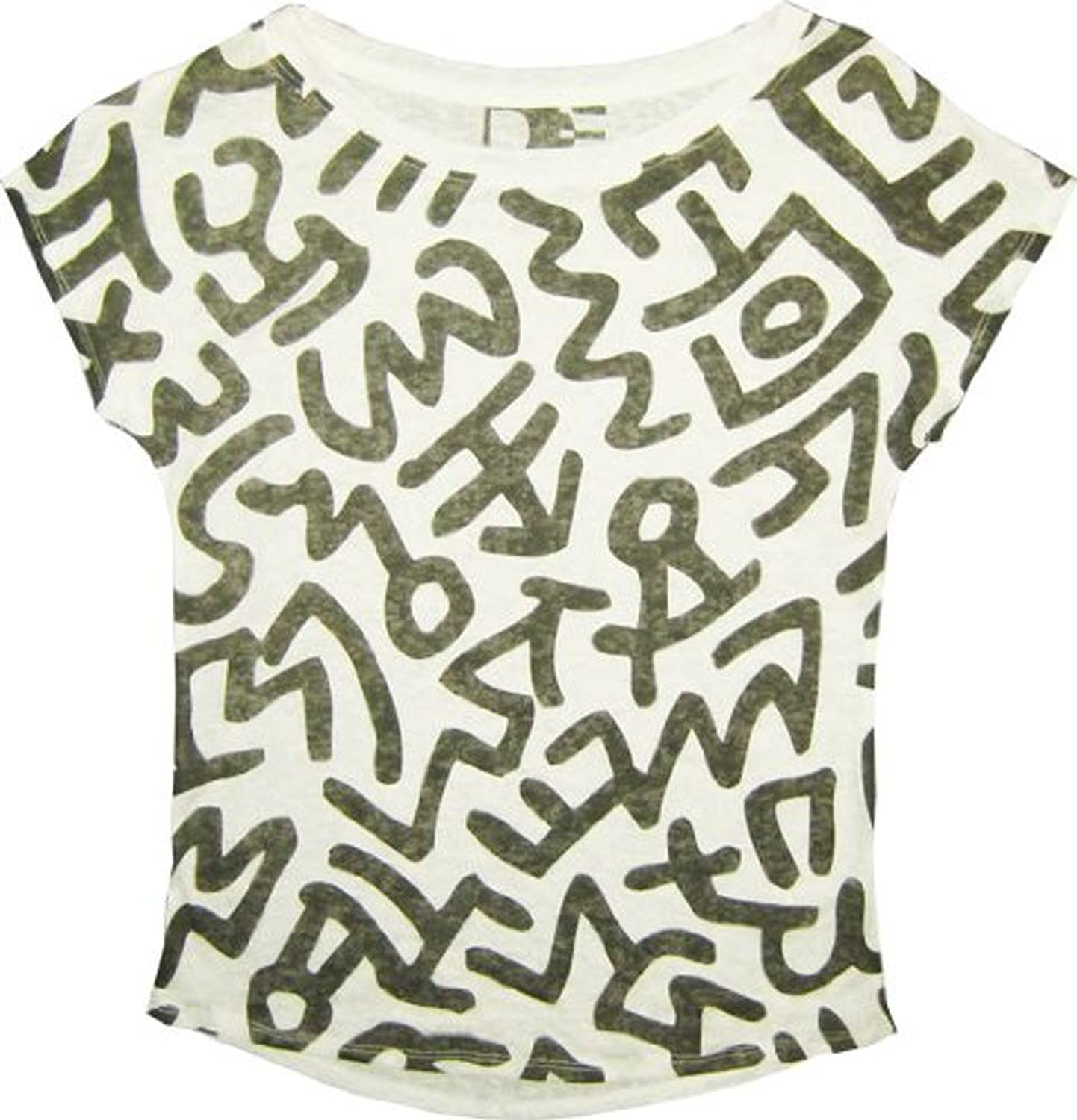 keith haring grafitti burnout white juniors t shirt tee amazon co