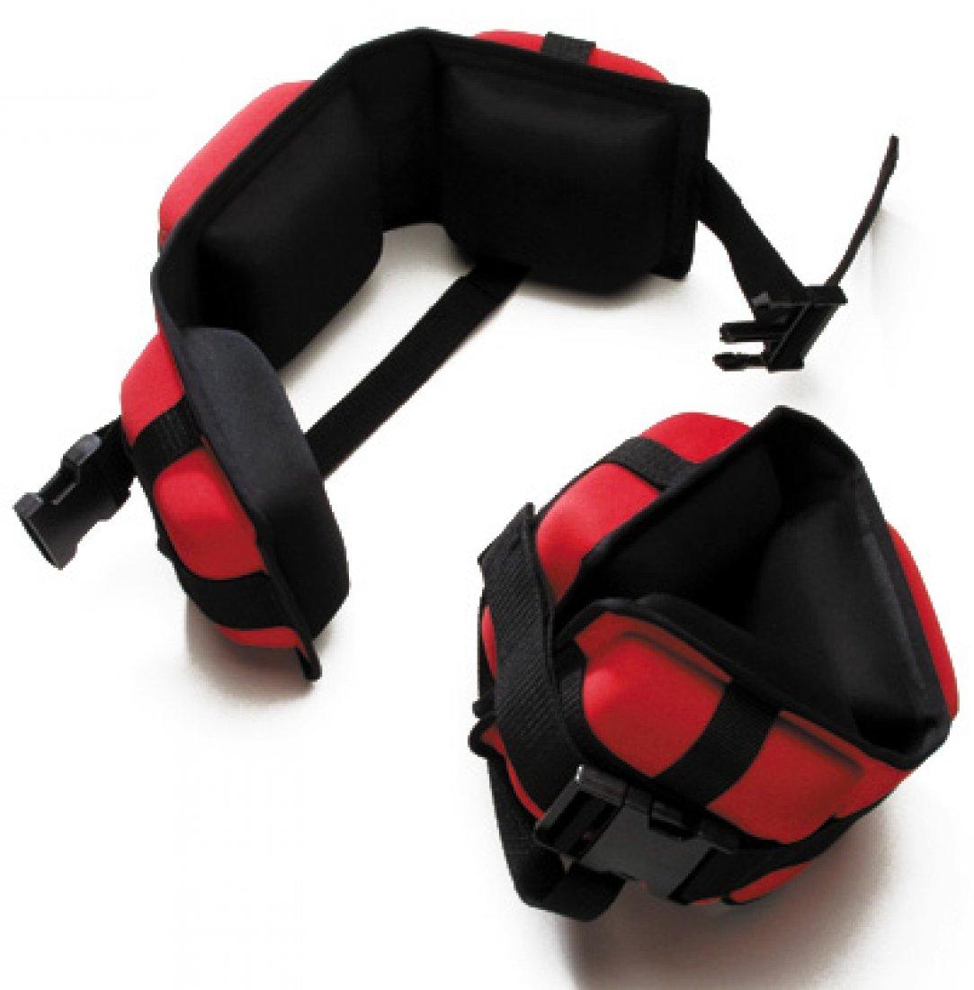 Professional Aqua Cuffs, Heavy Resistance - Red (Pair) 84175H